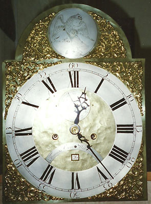 brass dial after restoration