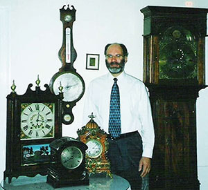 Mark Pelmann master clockmaker
